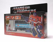 Transformers Optimes Prime G1 transformer Reissue Pearl Rosso Nero Action Figure