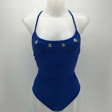 Escales Blue One Piece Swimsuit Size Large