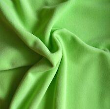Tissu Micropolaire vert pomme (100% polyester oekotex)