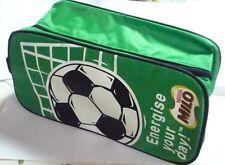 MILO New FOOTBALL SPORTS KIT BOOT BAG Fabric NESTLE MALAYSIA Goal Green Energise