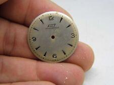 Cadran de Montre TISSOT watch dial.N A20 NAD 1950