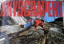 RARE DAVID LEE ROTH VAN HALEN SKYSCRAPER 1988 VINTAGE RECORD STORE PROMO POSTER