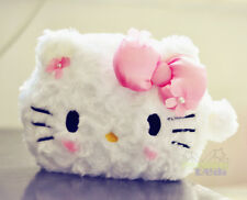 New Cute Hello Kitty Plush Pencil Case/Make up Bag/Cosmat​​ic Bag Holder Handbag