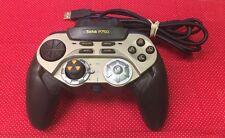 Saitek p750 Digital Gamepad Drosselklappe Rad Mac PC USB Gaming Controller