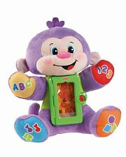 Fisher-Price Laugh and Learn Apptivity Monkey NEW FREE SHIPPING