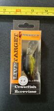 NEW OLD STOCK KOPPERS LIVE TARGET CRAWFISH FISHING LURE LOT #6