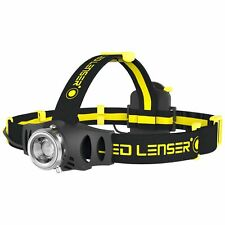 LEDLENSER iH6R  LED Headlamp ,5 - 200 Lumen, Black and Yellow