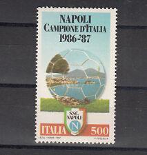 ITALIA 1 val 1987 Campionato Italiano Calcio L. 500 NAPOLI CAMPIONE D'ITALIA
