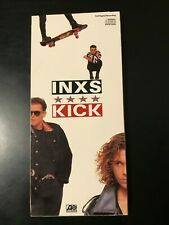 INXS Kick Longbox Empty NO CD Michael Hutchence MTV Sensation Devil Need You