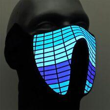 LED Festival-Maske ®Ucult leuchtende Equalizer DJ-Masken Raves Konzerte Party