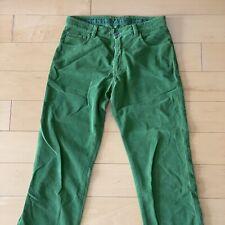 zegna green corduroy 33 jeans 5 pocket