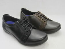 Chaussures noires en cuir pour femme