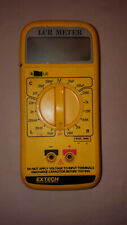 ExTech Lcr Meter Rotary Selector Analog - Digital Hybrid