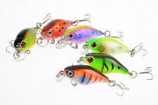 Mini 6pcs Lot Crank Bait 4.4g/4.3cm Fishing lures Plastic Baits Crankbait Tackle
