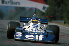 Ronnie Peterson Tyrell P34 Belgian Grand Prix 1977 Photograph 2