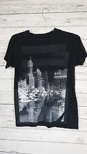 New York Cityline T Shirt Rebels and Nomads Size Medium Black Tee Shirt
