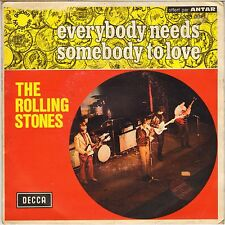 """THE ROLLING STONES """"EVERYBODY NEEDS SOMEBODY TO LOVE"""" 70'S SP DECCA 333.001"""