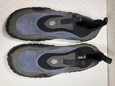 Teva Women's Black Blue Proton Water Shoes Sandals SN# 6416 Stretch Size-10