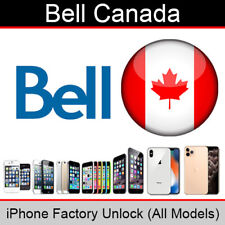 Bell Canada iPhone Factory Unlocking Service (All Models Supported)