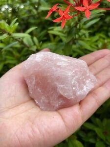 """Large Rose Quartz Rough Natural Stones, 2.5""""-3.5"""" Raw Rose Quartz, Pick A Weight"""