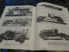 VTG BOOK/FIRE FIGHTING AT TURN OF THE CENTURYOLD /ENGINES/HISTORY/MANY PICS/1971