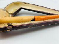 Bernstein Mundstück Pfeifen Mundstück 6,5 cm