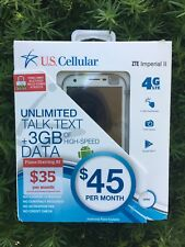 """ZTE Imperial™ II - N9516 (US Cellular) 5"""" HD Display *Ready Connect Plans ONLY*"""