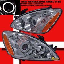 04 05 06 Mitsubishi Lancer Ralliart CCFL Halo Angel Eye Projector Headlights