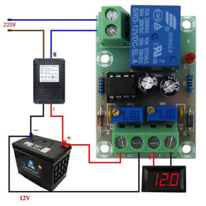 12V Smart Charger Power Control Board Storage Battery Charging Controller BSG