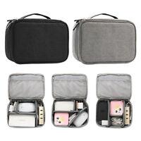 Electronics Cable Organizer USB Earphone Gadget Storage Case Bag Travel Pouch