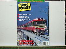 Revue VOIES FERREES 063 Lorraine n°1 Poster CC 14102 Sybic Jouef LGB 030 Corpet