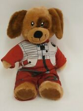 "Build A Bear Workshop Star Wars  Dog w/ Poe Dameron Suit Stuffed Animal 17"""