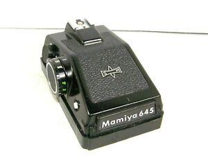 Mamiya SM AE ASA Prism View Finder For M645 1000S Medium Format Cameras