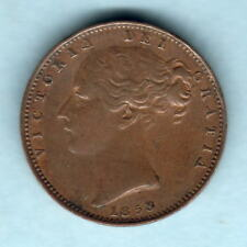 New listing Great Britain. 1853 Farthing. gVf