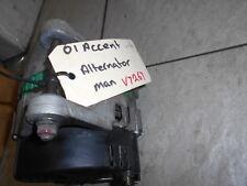 ALTERNATOR To Suit 5/2001 HYUNDAI ACCENT SEDAN G4EC S/N V7267 BM4044