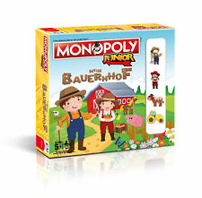 Monopoly Junior Mein Bauernhof Brettspiel Gesellschaftsspiel Kinder Spiel NEU