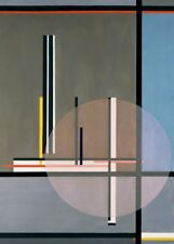 "LASZLO MOHOLY-NAGY ""Lis, detail"" Bauhaus Constructivism 250gsm A3 Poster"
