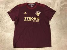 Detroit City FC NPSL 2019 Adidas Founder's Cup Charity Jersey #19 (size: 2XL)