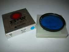 52MM B&W 80B (KB-12) SCREW FILTER COLOR CORRECTION FILM/DIGITAL NIKON CANON SONY