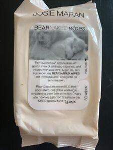 Josie Maran Mini Bear Naked Wipes - 30 Wipes