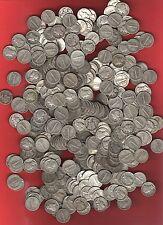 LOT OF TEN - US *MERCURY DIMES* 90% Silver survivalist barter coins~ before 1946