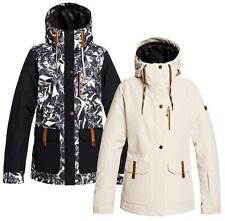 Women's Roxy Andie Hooded Insulated Snow Jacket Snowboard Ski Winter Coat Nwt