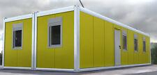 1 QM CONTAINER BAUCONTAINER BÜROCONTAINER Containeranlage Wohncontainer Lageraum