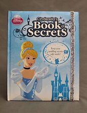 Disney Princess Cinderella's Book Of Secrets Diary Journal Scrapbook - Brand New