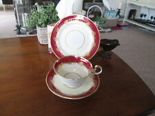 AYNSLEY RUTLAND 8013 CABINET TRIO (TEA CUP, SAUCER AND PLATE)  1930s