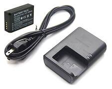7.2v 1250mAh Li-ion Battery + Charger for Canon LP-E12 LC-E12 LC-E12C LC-E12E