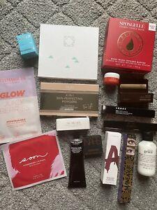 NEW Skincare Makeup Lot Full & Deluxe Sample Sizes Ofra Tarte Pur Nars Hourglass