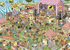 Pop Festival Jan van Haasteren 1000 Piece Comic Music Jigsaw Puzzle by Jumbo