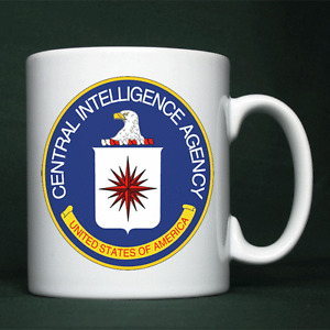 CIA - Central Intelligence Agency - Personalised Mug / Cup