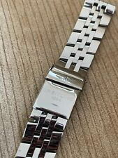 Breiltling 22mm Pilot Stainless Steel Bracelet Band with Deployment Buckle Watch